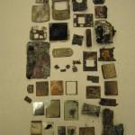 exhibit - burnt cell phone