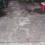 Exhibit 237 - Garage Floor With Snowmobile Removed
