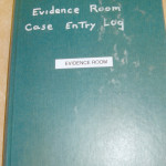Exhibit 467 - Evidence Log Book